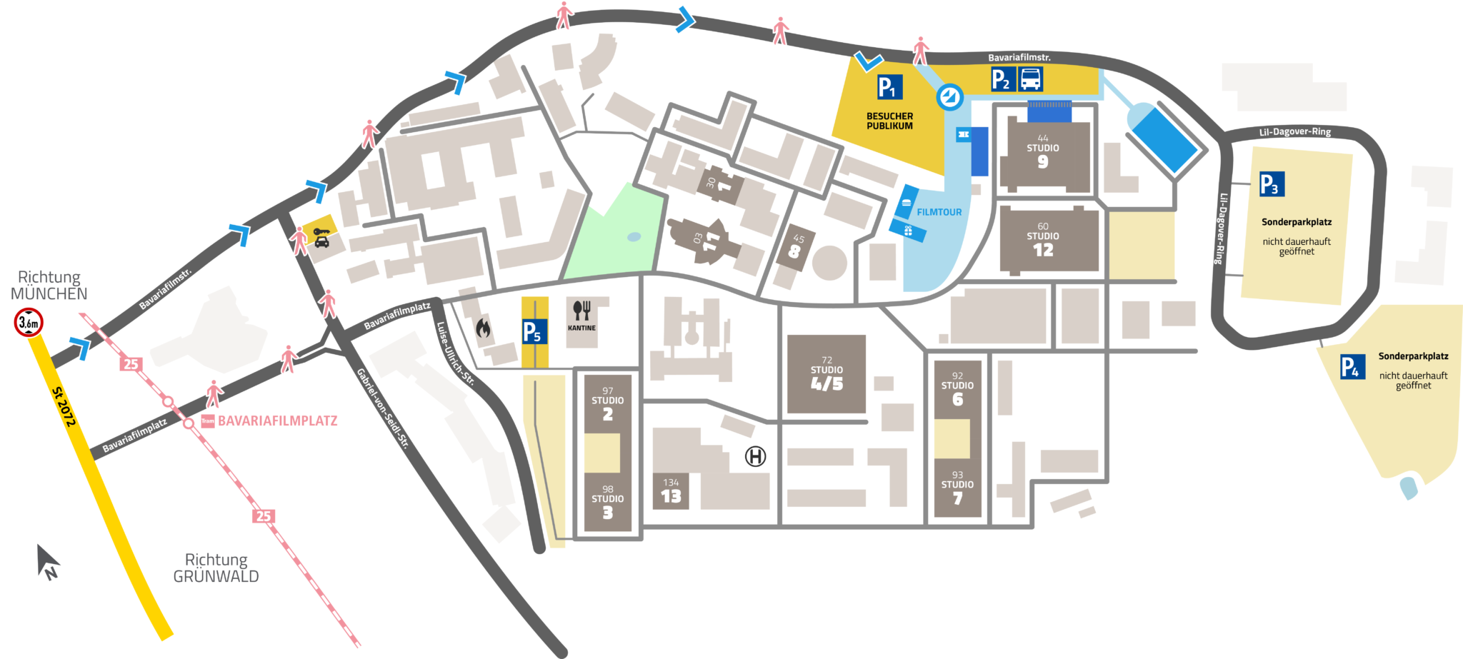 Filmstadt Besucher Und Publikum Bavaria Studios