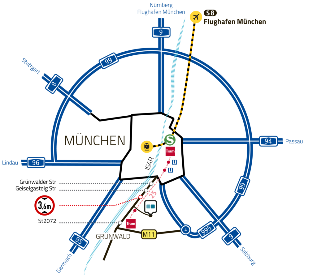Directions and Map – Bavaria Studios